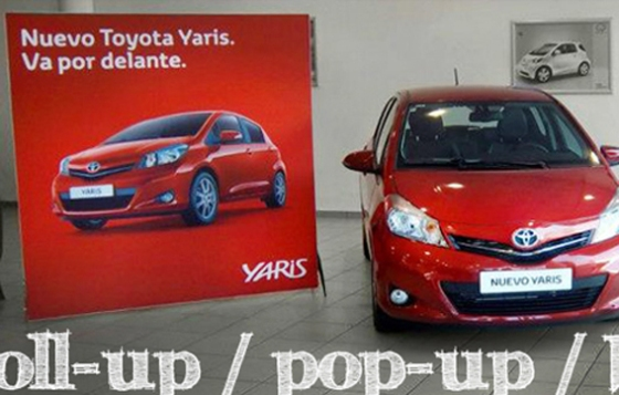 toyota roll-up