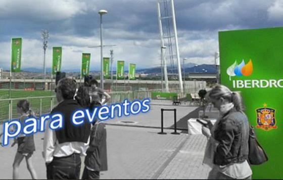 grafica para evento Iberdrola